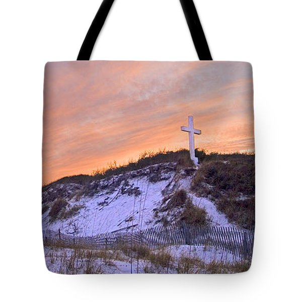 Island Cross Tote Bag