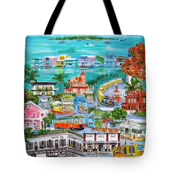 Island Daze Tote Bag