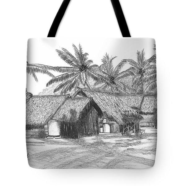 Island House 13 Tote Bag by Lew Davis