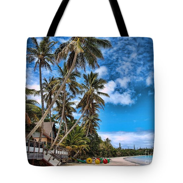 island in the Pacific Tote Bag