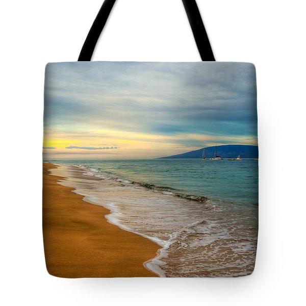 Island Morning Tote Bag