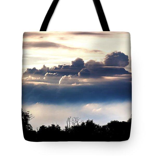 Island Of Clouds Tote Bag
