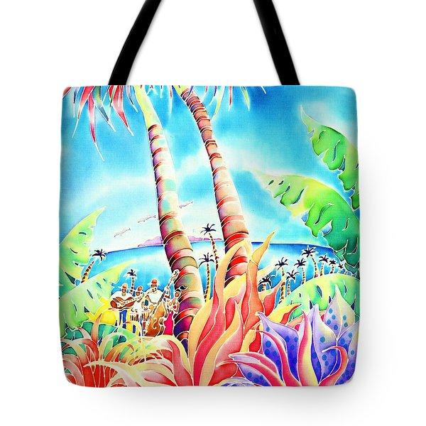 Island Of Music Tote Bag