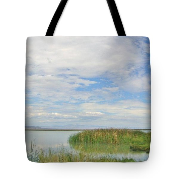 Tote Bag featuring the photograph Island Peace by Marilyn Diaz