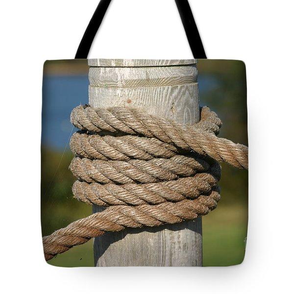 Island Ropework Tote Bag