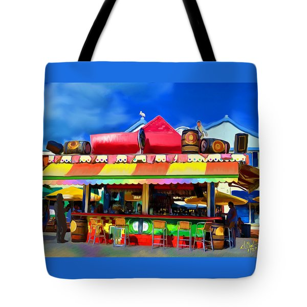 Island Stand Tote Bag by Gerry Robins
