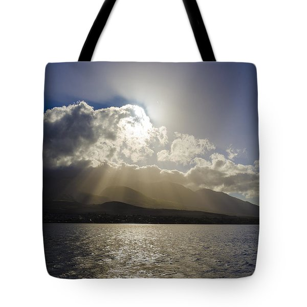 Island Sunset Tote Bag