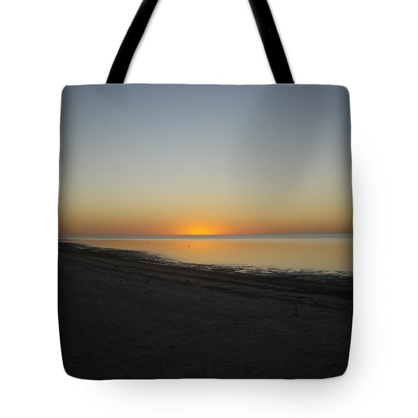 Tote Bag featuring the photograph Island Sunset by Robert Nickologianis