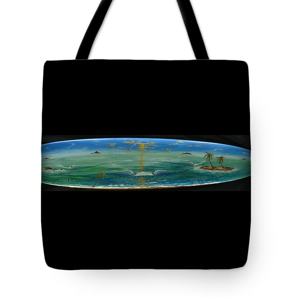 Island Surf Dreams Tote Bag