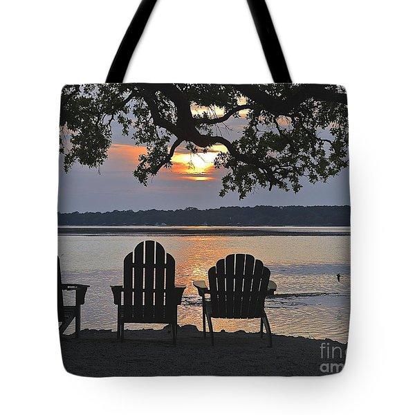 Island Time Tote Bag by Carol  Bradley