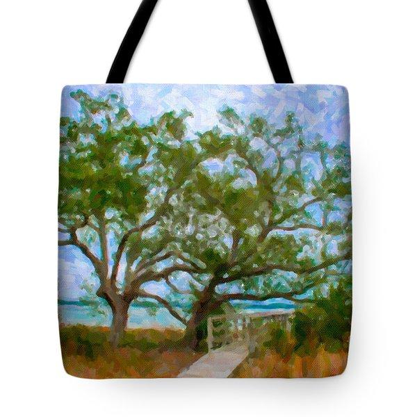 Island Time On Daniel Island Tote Bag