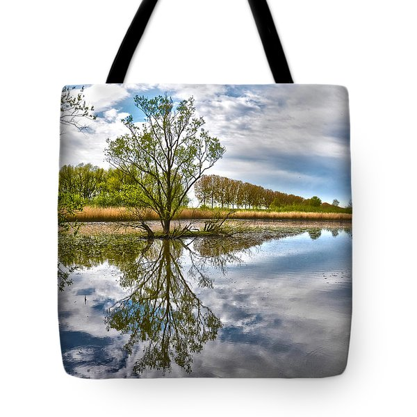 Island Tree Tote Bag by Frans Blok