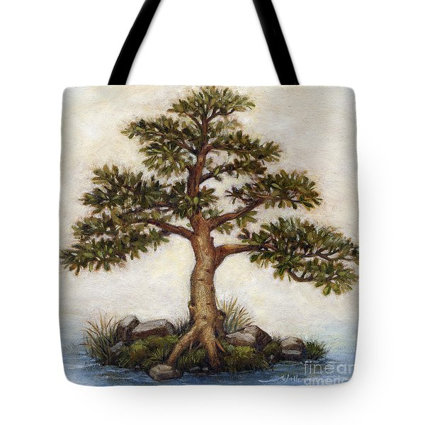Island Tree Tote Bag