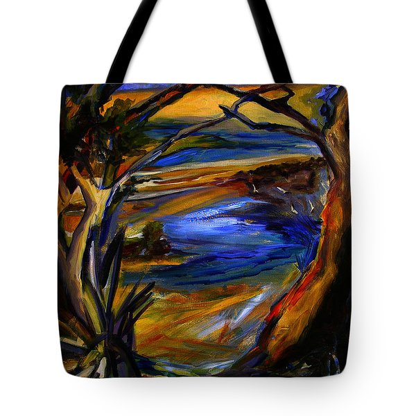 Island Waters St. Kitts Tote Bag