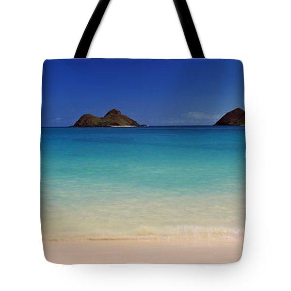 Islands In The Pacific Ocean, Lanikai Tote Bag