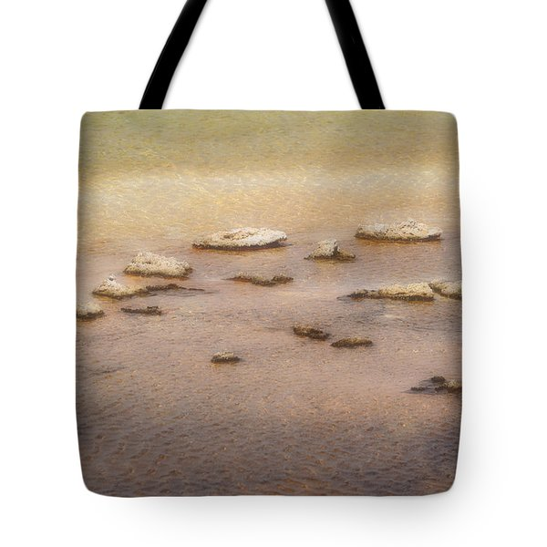 Tote Bag featuring the photograph Islands In The Stream by Nadalyn Larsen