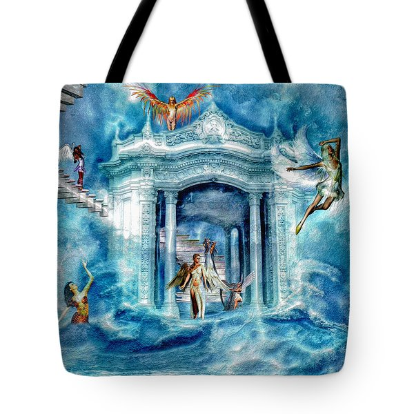 Isle Of Angels Tote Bag by Amanda Struz