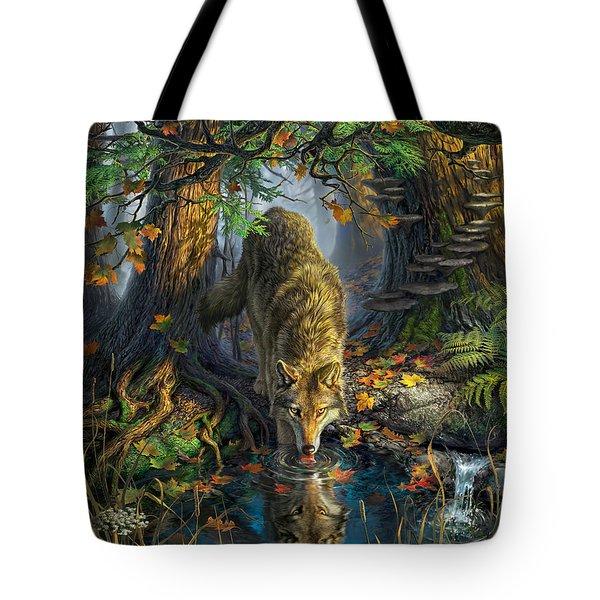 Isle Royale Fall Tote Bag