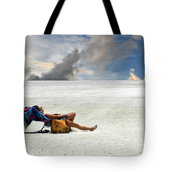 Isn't Life Strange Tote Bag by Laura Fasulo