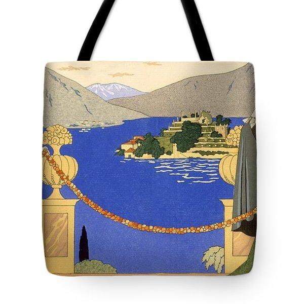 Isola Bella Tote Bag by Georges Barbier