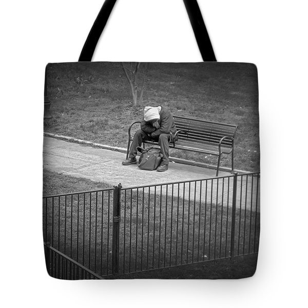 Isolation Tote Bag by Brian Wallace