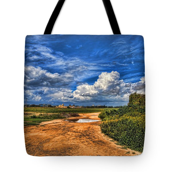 Israel End Of  Spring Season  Tote Bag
