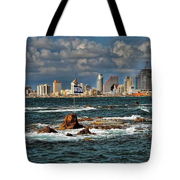 Israel Full Power Tote Bag
