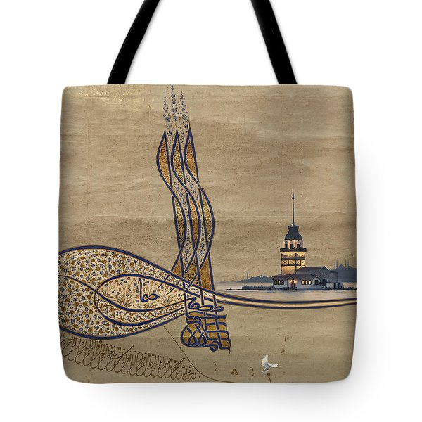Istanbul Tote Bag by Ayhan Altun