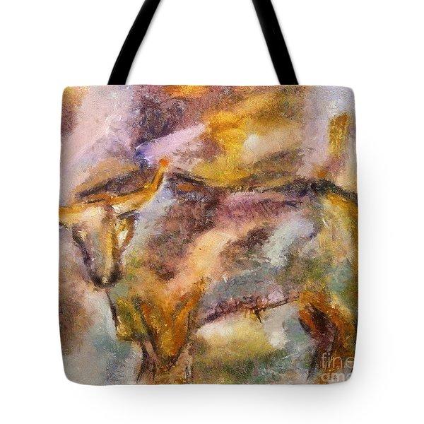 Istrian Bull -  Boshkarin Tote Bag