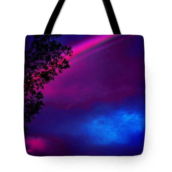 Tote Bag featuring the photograph It Happened Just This Dawn by Susanne Still