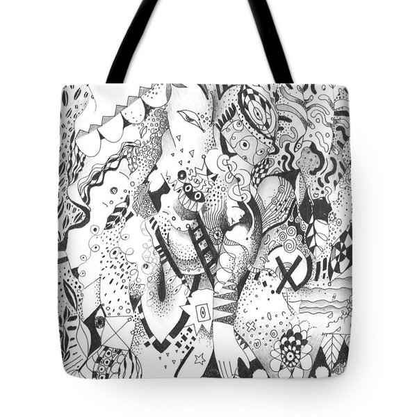 It Is Never Enough Tote Bag by Helena Tiainen