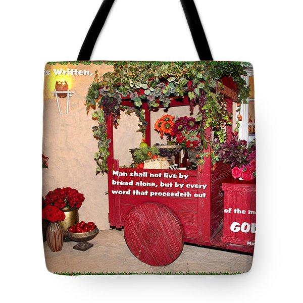 It Is Written Tote Bag