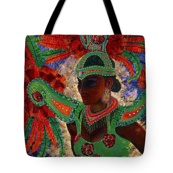 It Looks Like Mardi Gras Time Tote Bag by Margaret Bobb