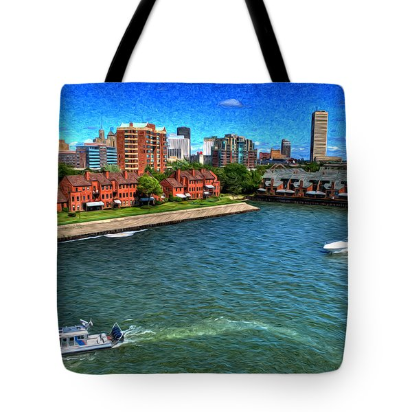 It Was A Perfect Day... Tote Bag