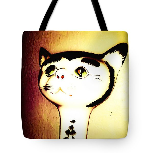 It Wasn't Me Tote Bag by Lady Ex