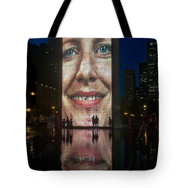 It Winds From Chicago Tote Bag by Gary Warnimont