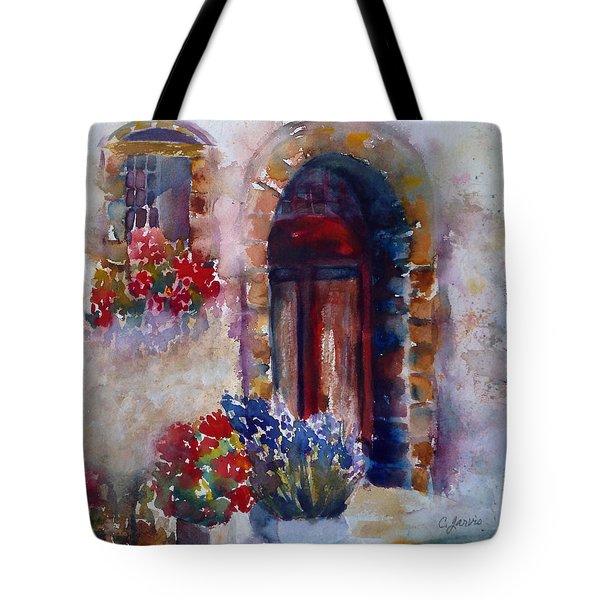Italian Door Tote Bag