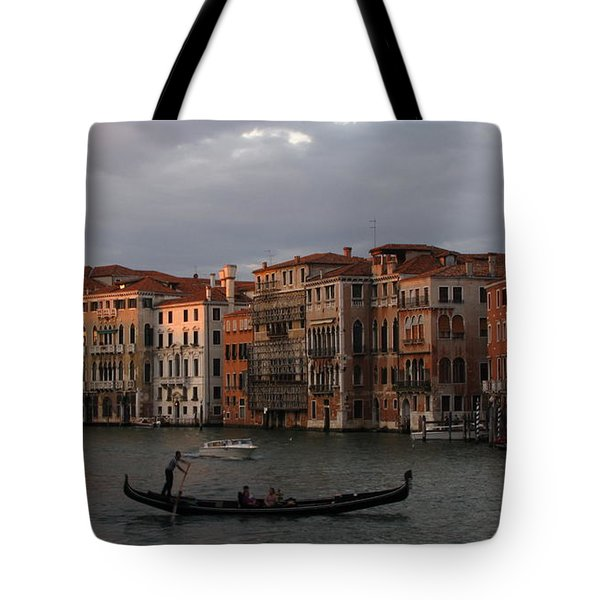 Italian Evening Tote Bag by Jennifer Wheatley Wolf