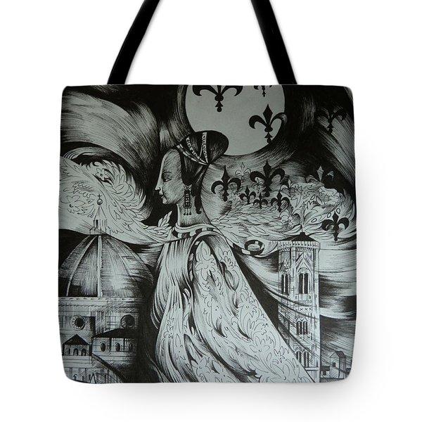 Italian Fantasies. Florence Tote Bag