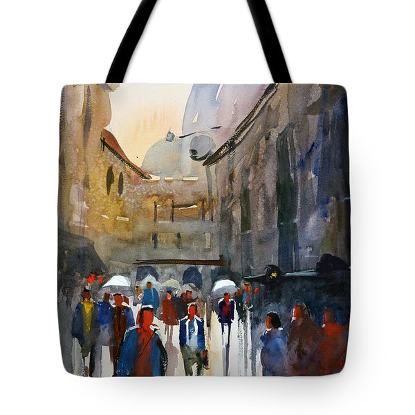 Italian Impressions 5 Tote Bag by Ryan Radke
