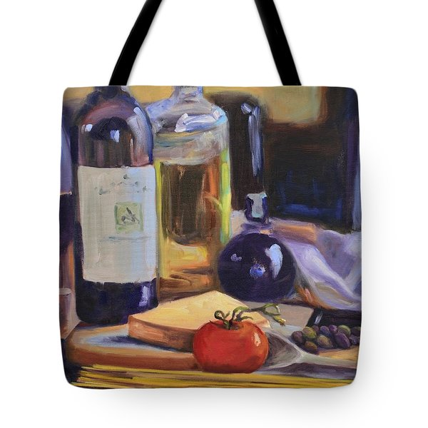 Italian Kitchen Tote Bag by Donna Tuten