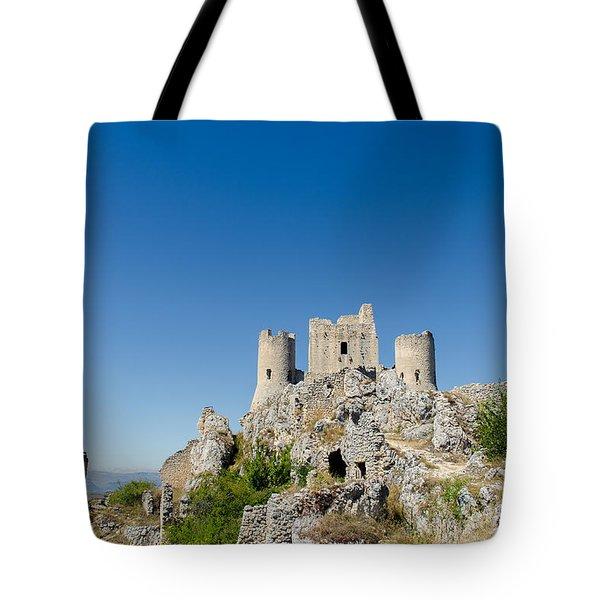 Italian Landscapes - Forgotten Ages Tote Bag by Andrea Mazzocchetti