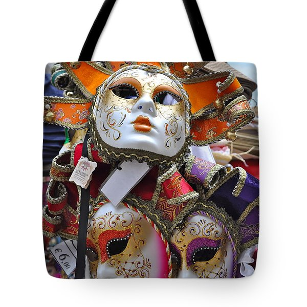 Italian Masks Tote Bag