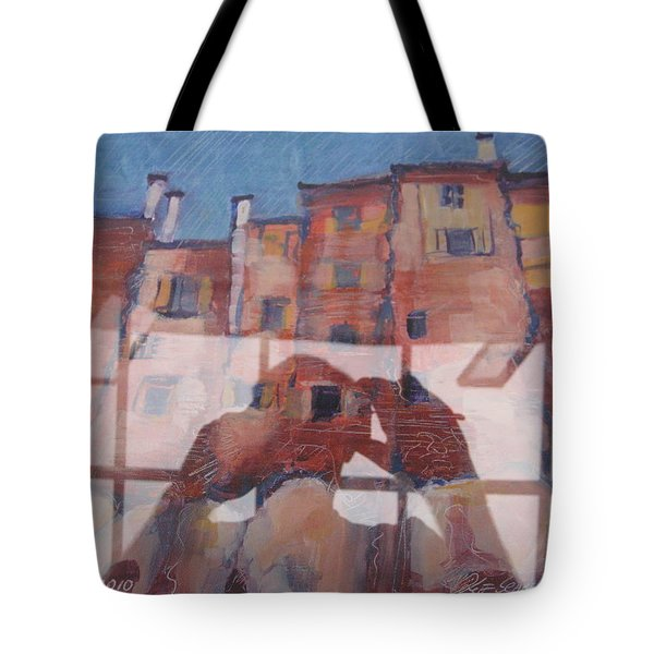 Italian Painting Reflection Tote Bag
