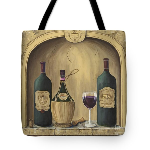 Italian Reds Tote Bag by Marilyn Dunlap