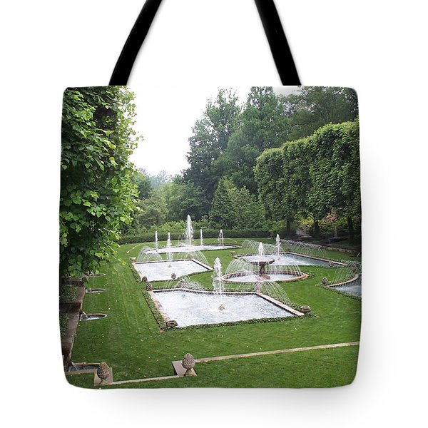 Italian Water Garden Tote Bag by Barbara McDevitt