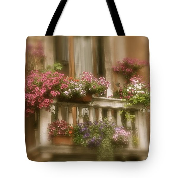 Italian Windowbox 1 Tote Bag