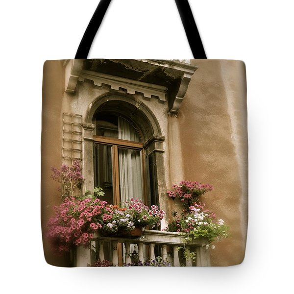Italian Windowbox 2 Tote Bag