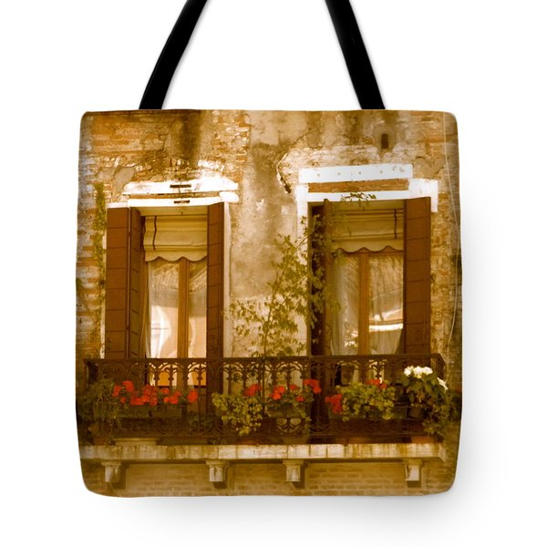 Italian Windowbox 3 Tote Bag