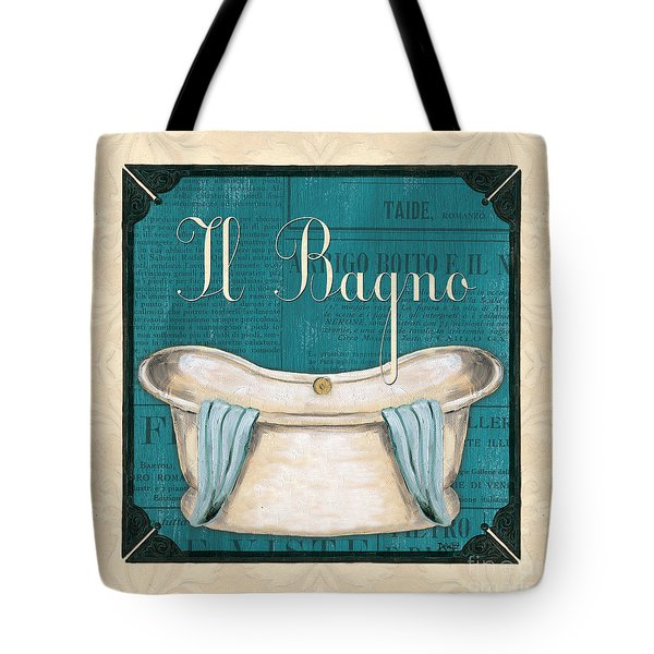 Italianate Bath Tote Bag